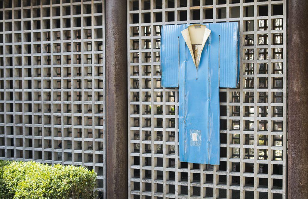 Blue Kimono by Gordon Chandler