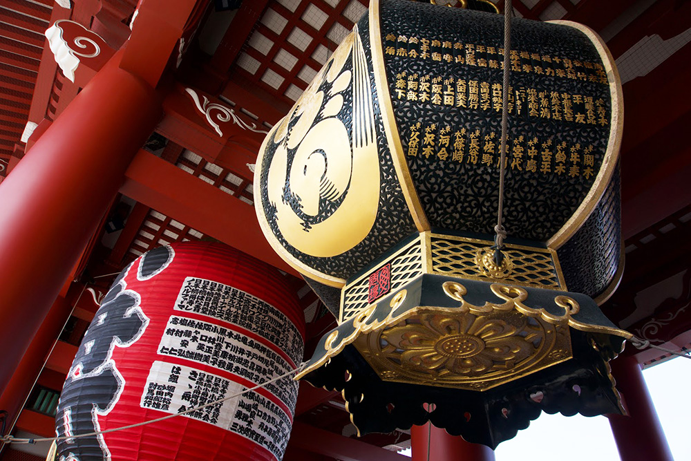 Details from the Senso-Ji Temple.