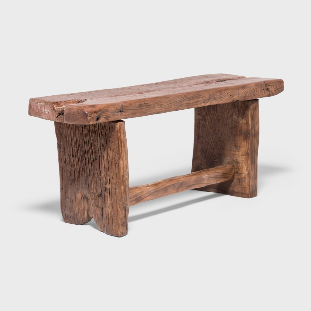 Provincial Reclaimed Elm Bench