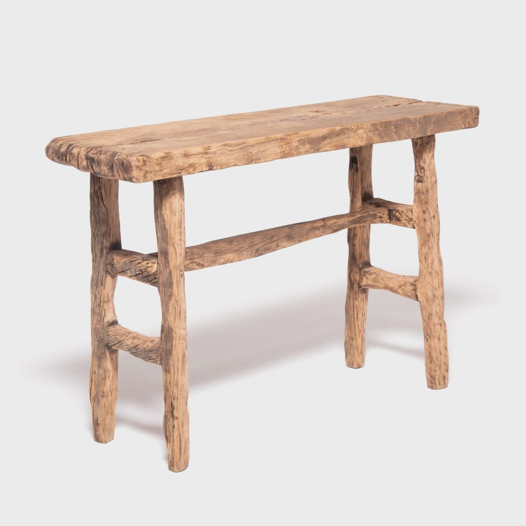 Reclaimed Elm Courtyard Console Table