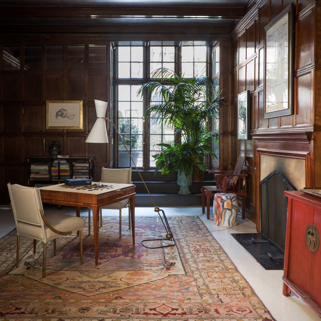 Upper East Side Library by Jayne Design Studio. Photography courtesy of Jayne Design Studio.